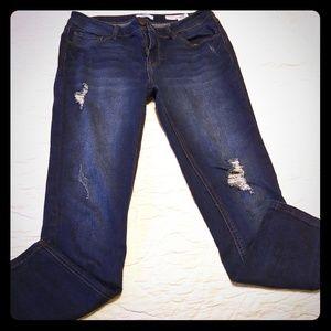 Kensie ankle midrise jeans